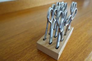 Scissor Block takes 12 scissors (scissors not included)