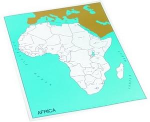 Control chart of Africa, capitals