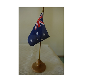 2 single flag stands are included