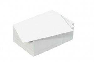 250 sheets white cardboard for the pricker set