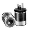 Furutech FI-50AU Carbon / Rhodium Power Plug