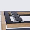 SRA Scuttle single column rack