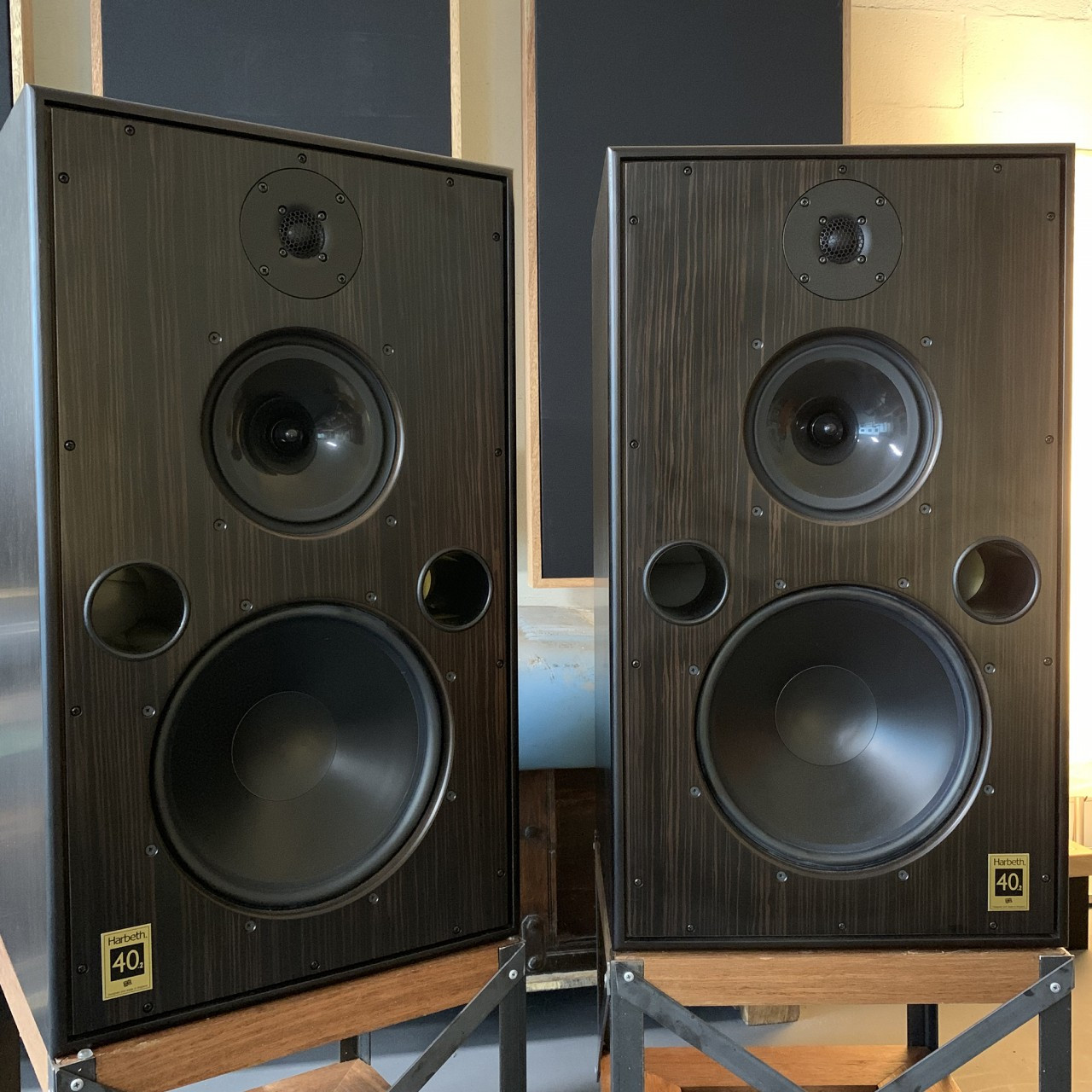 Harbeth Monitor 40.2 speakers ex-demo