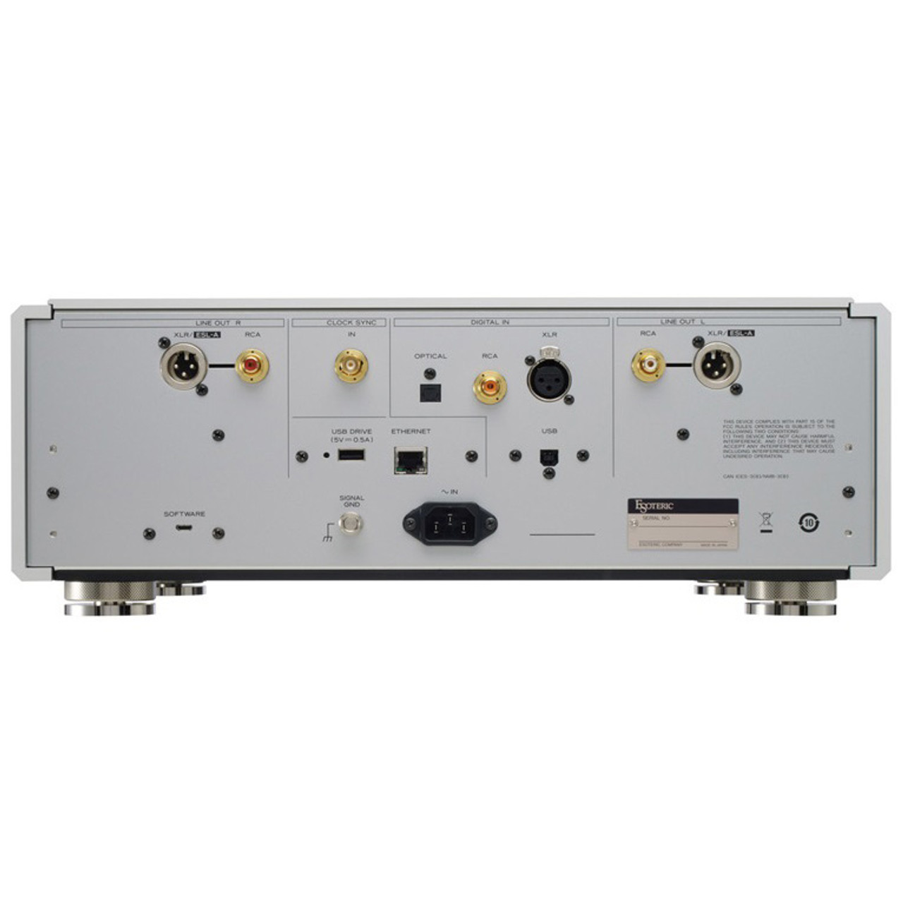 Esoteric N-01 DAC and Streamer