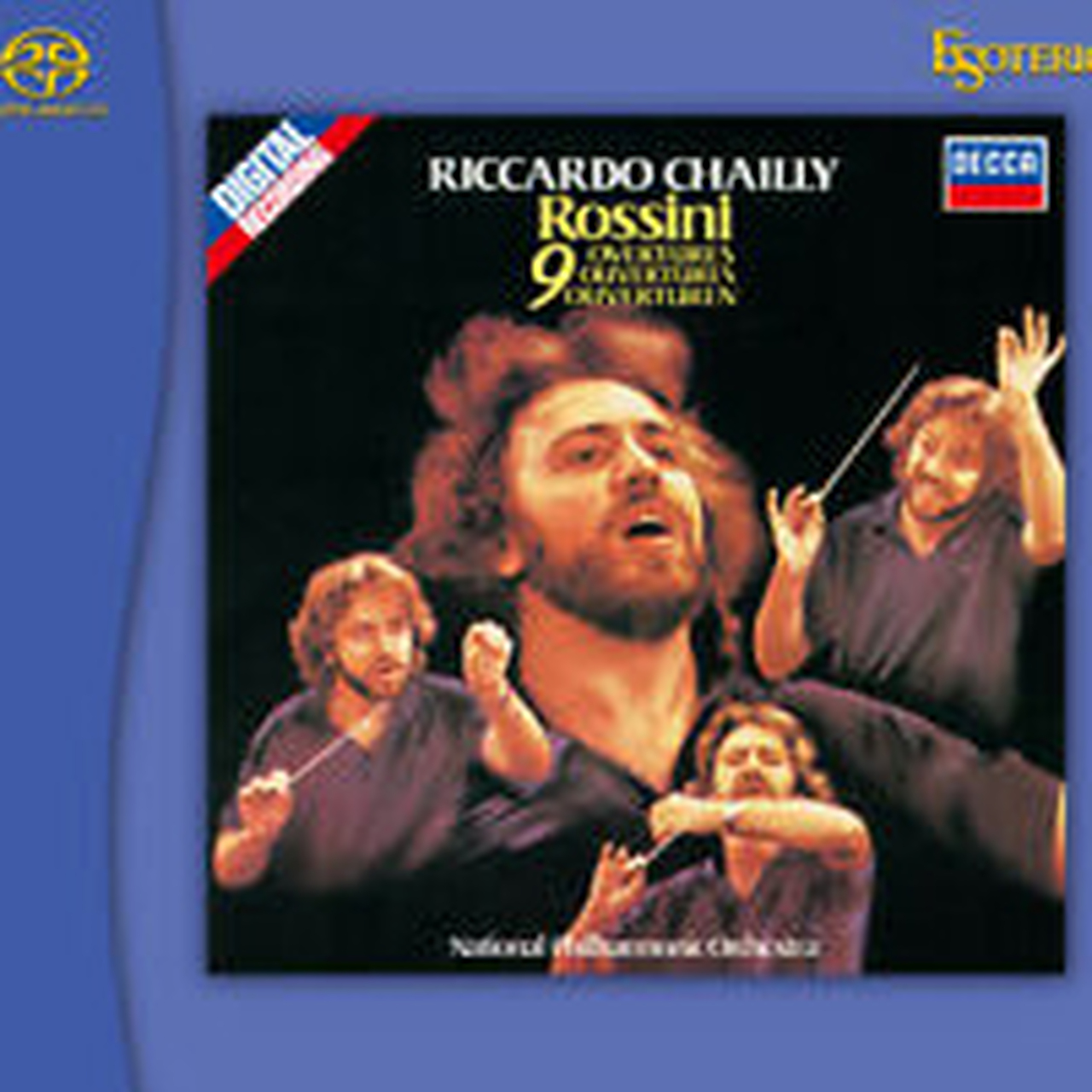 Rossini 9 Overtures Esoteric SACD