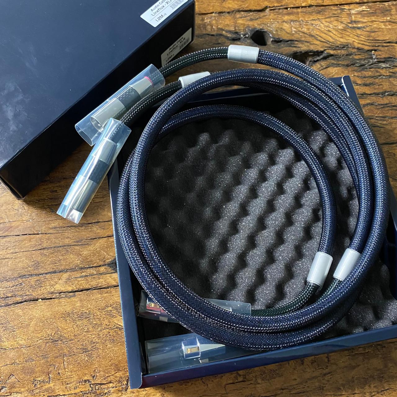 Furutech Lineflux XLR cables as-new