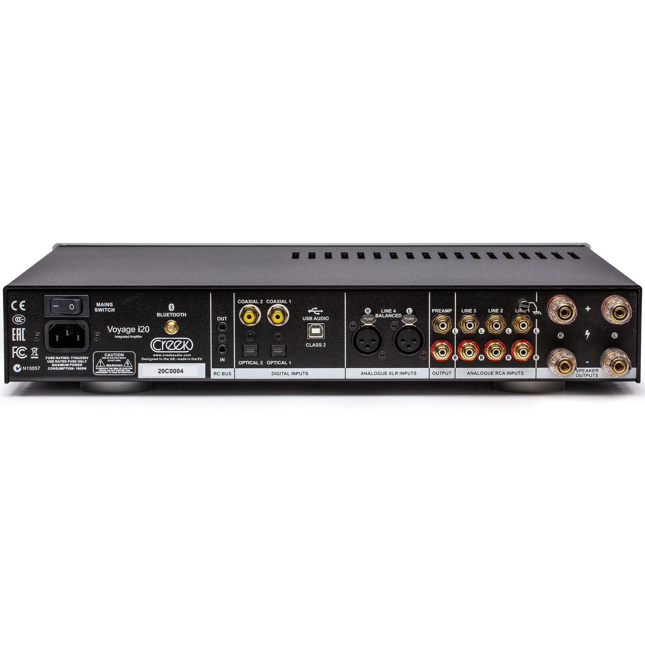Creek Audio Voyage i20 integrated amplifier and dac