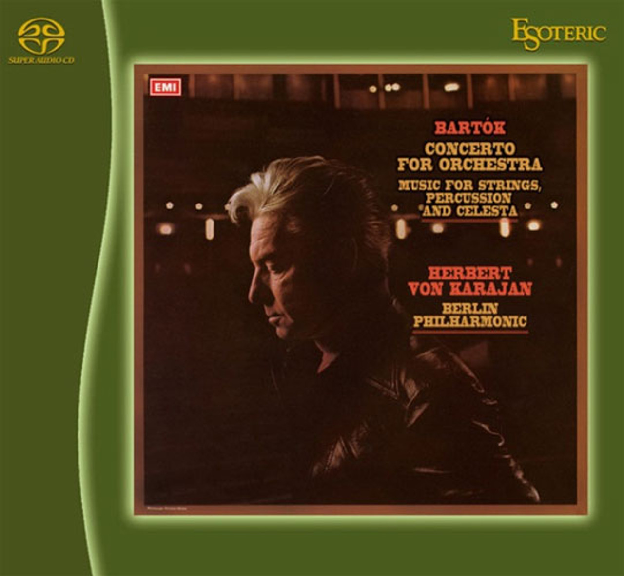 Bartok Music for Strings, Celesta Conc. for Orchestra Esoteric SACD