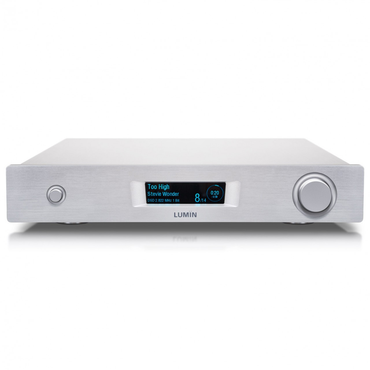 Lumin M1 integrated amp with streamer