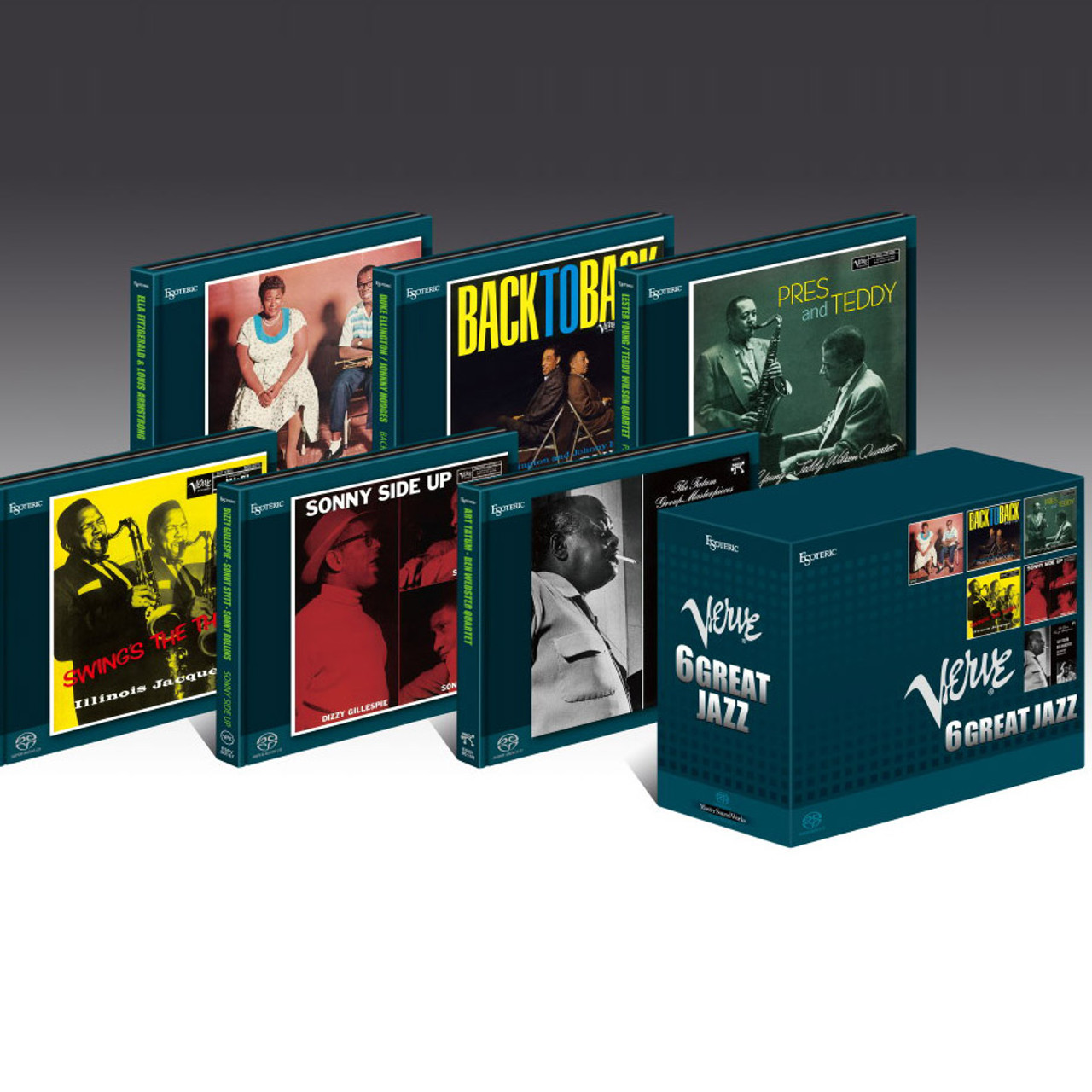 Esoteric Verve 6 Great Jazz SACD collection