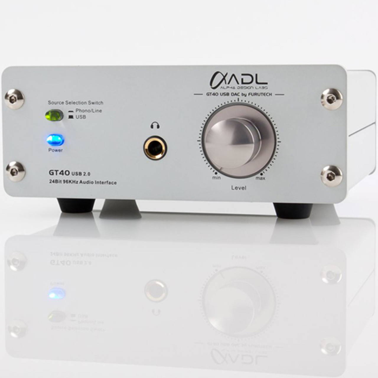 ADL GT40 Alpha Dac, Headphone Amplifier, Phono Stage & Preamplifier