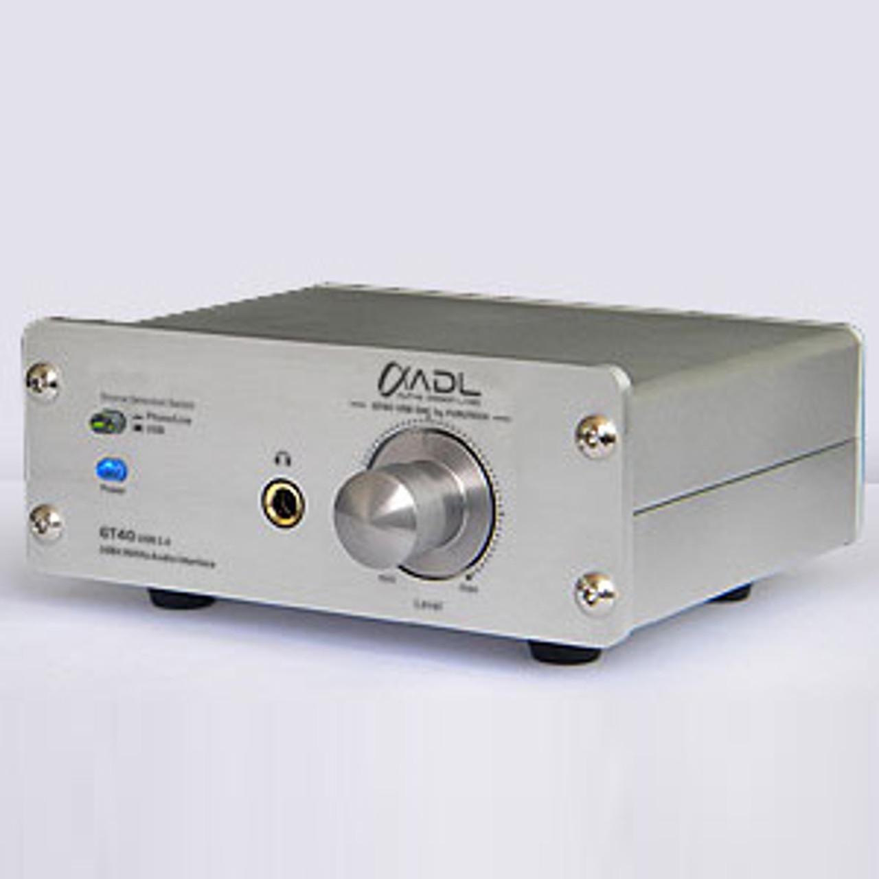 ADL GT40 Alpha Dac, Headphone Amplifier, Phono Stage & Preamplifier