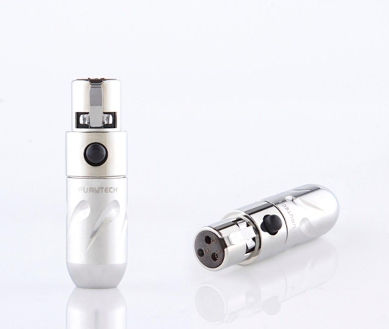 Furutech FT-608mF 3-pin mini XLR plugs