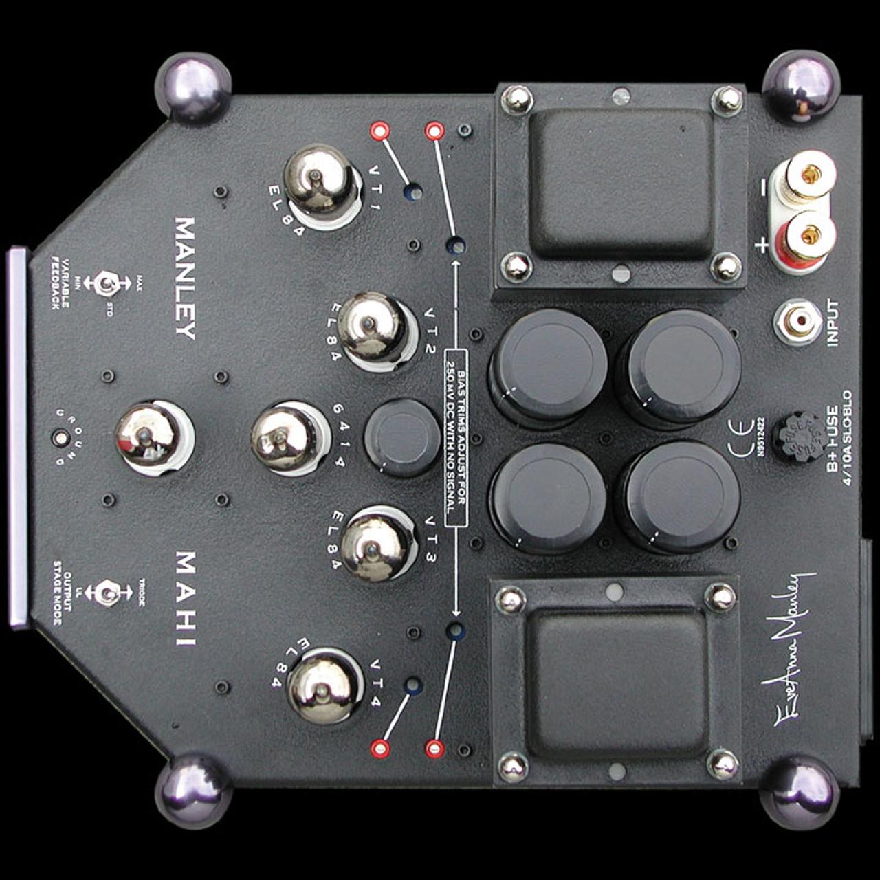 Manley Mahi monoblock amplifiers