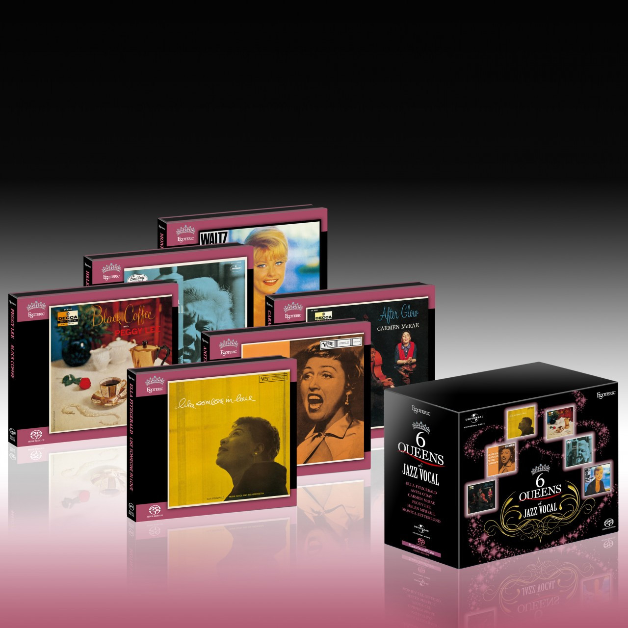 6 Queens of Jazz Vocal Esoteric SACD box set