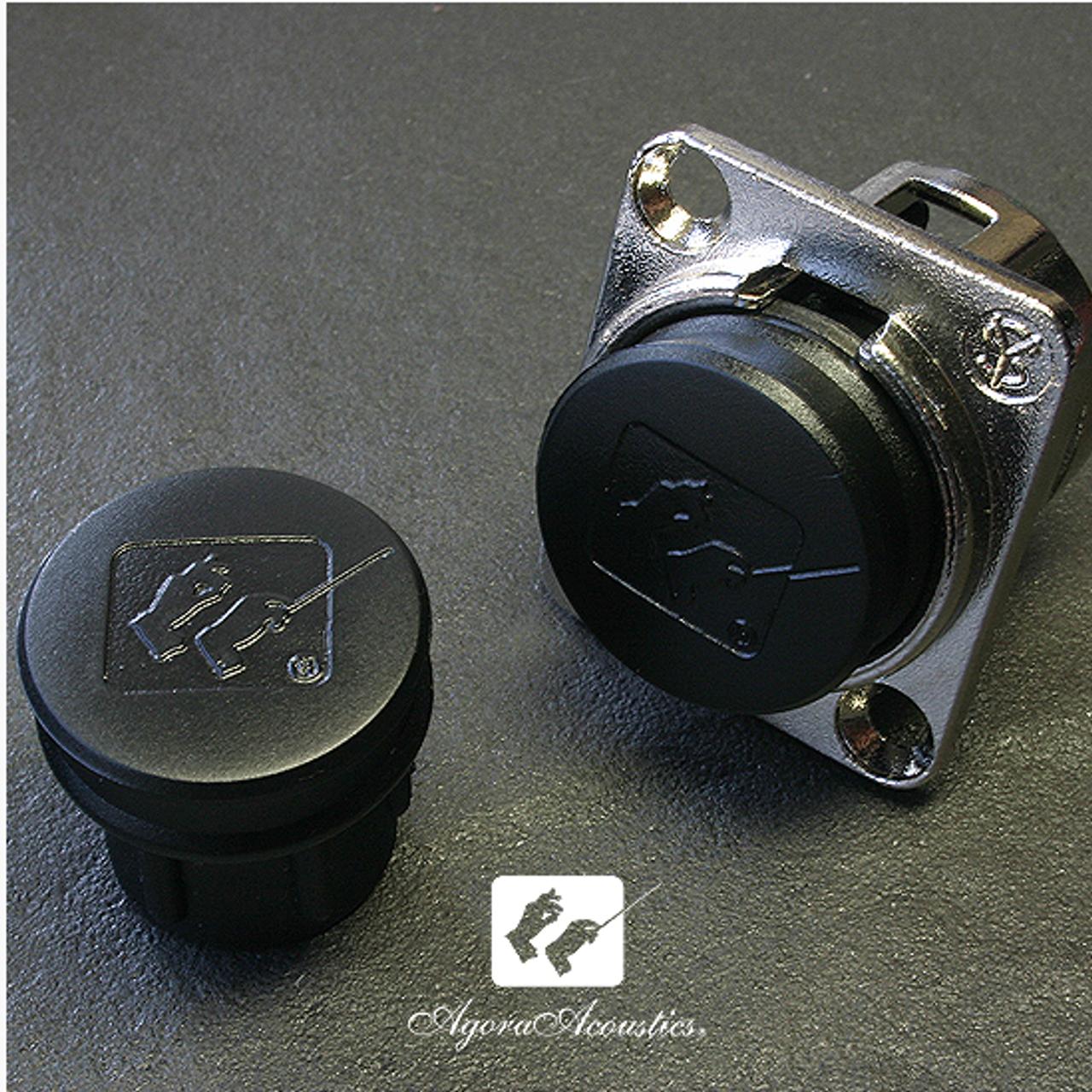 PlugCare RCA and XLR caps