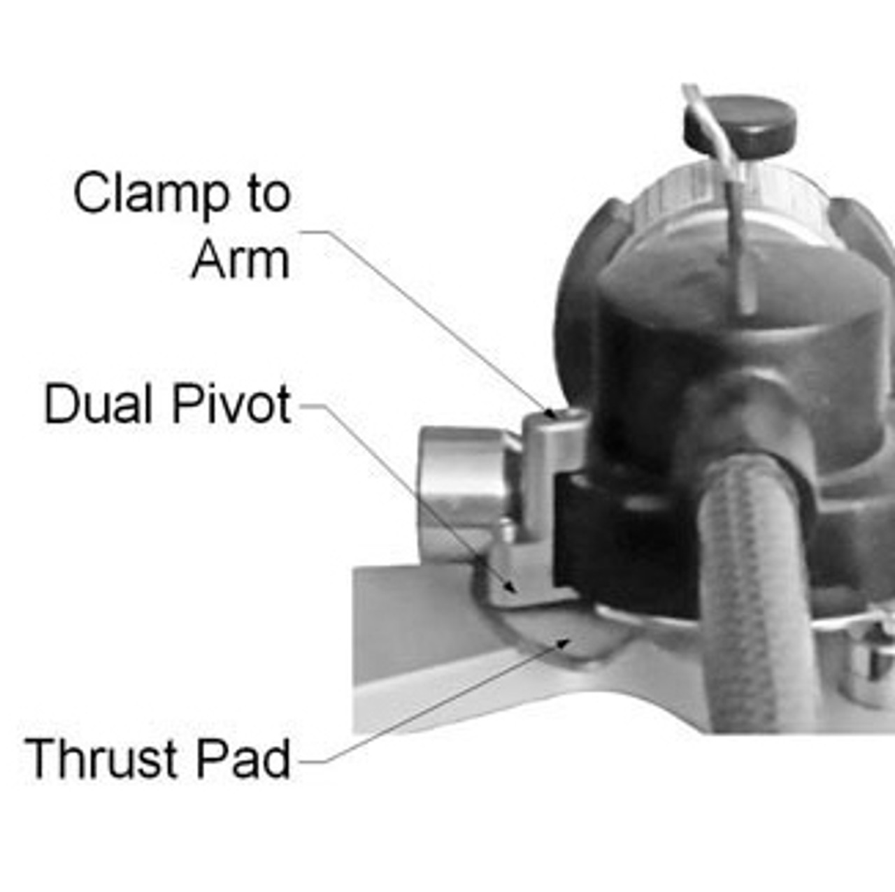 VPI Dual Pivot assembly