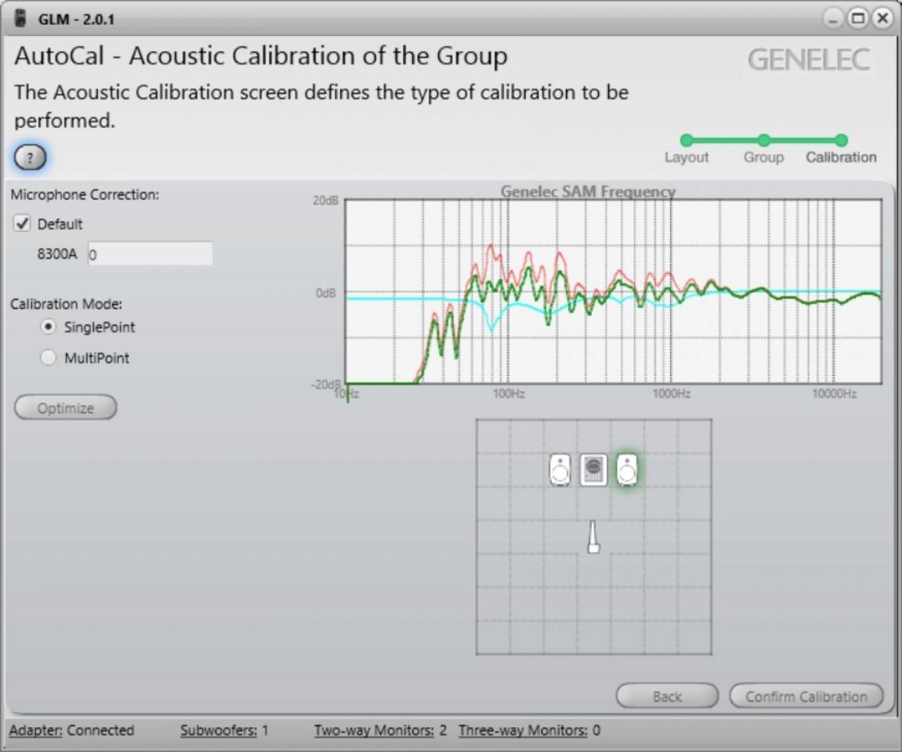 Genelec Loudspeaker Manager Package 2.0