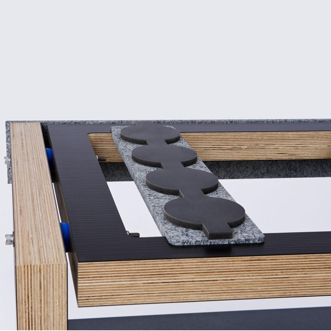 SRA Scuttle dual-width rack