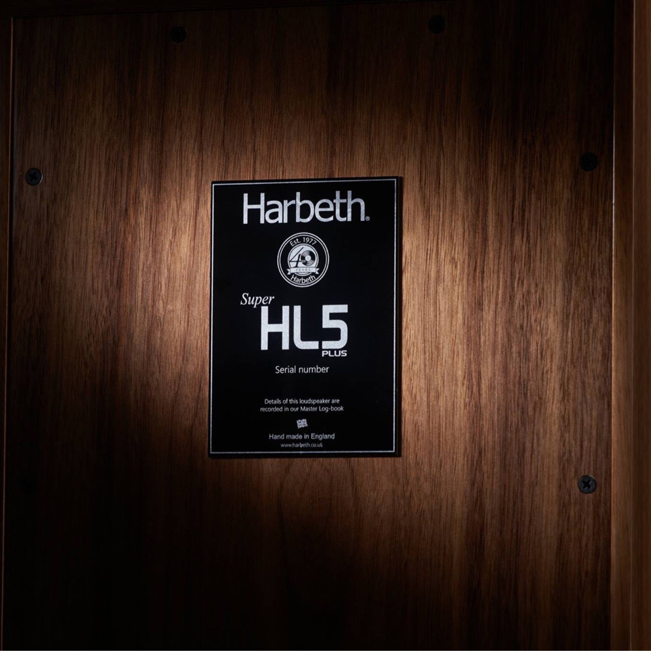 Harbeth Super HL5+ 40th Anniversary speakers