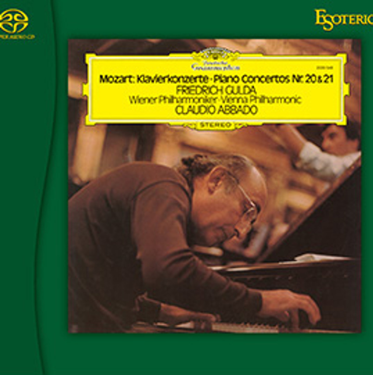 Mozart Piano Concerto No.20 and 21 Esoteric SACD
