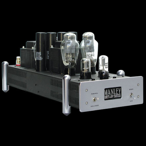 Manley 300B amps with SRA platforms ex-demo