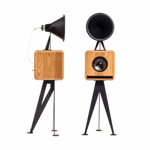 Oswalds Mill Audio Mini horn loudspeakers