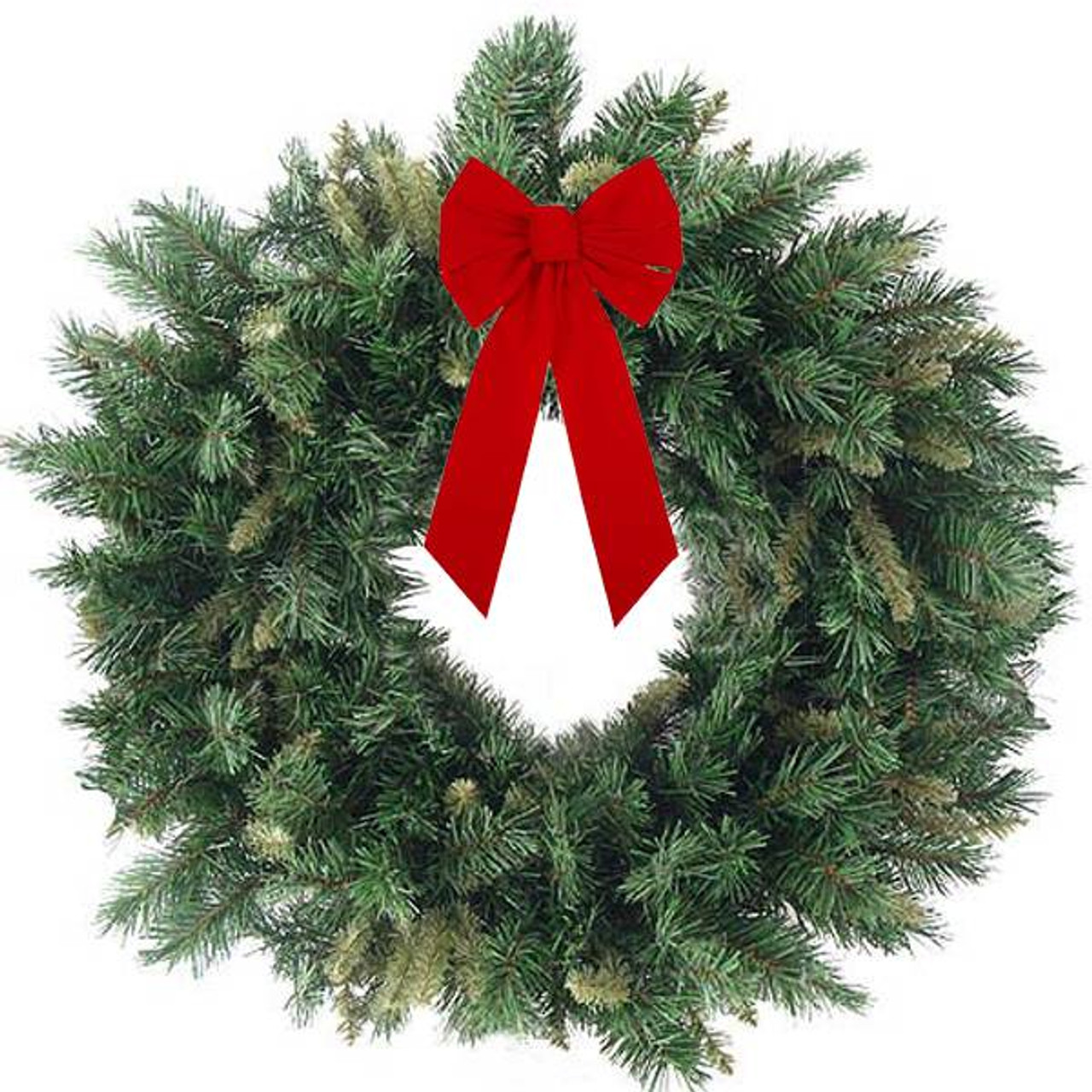 Large Red Bow Christmas Decorations  from cdn11.bigcommerce.com