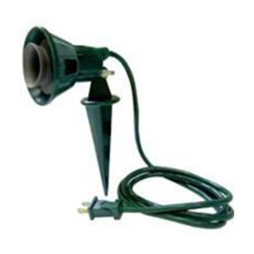 Flood Light Holder with Ground Stake