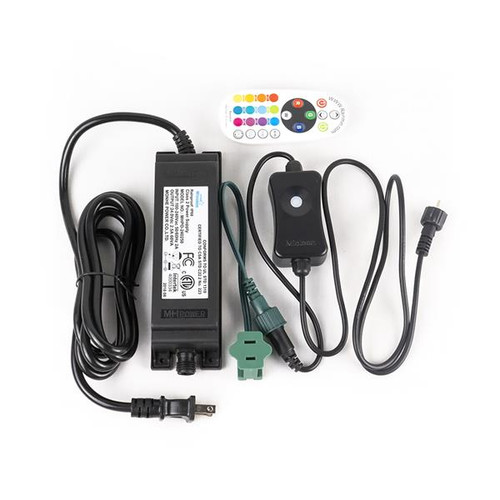 E26 (G50 and S14) Remote Control Color Changing Replacement Bulb Power Controller-Complete Kit