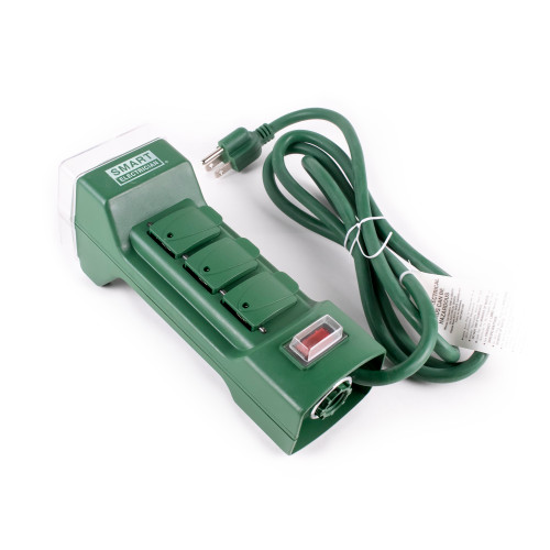 6-Outlet, Outdoor Timer 6' Power Cord