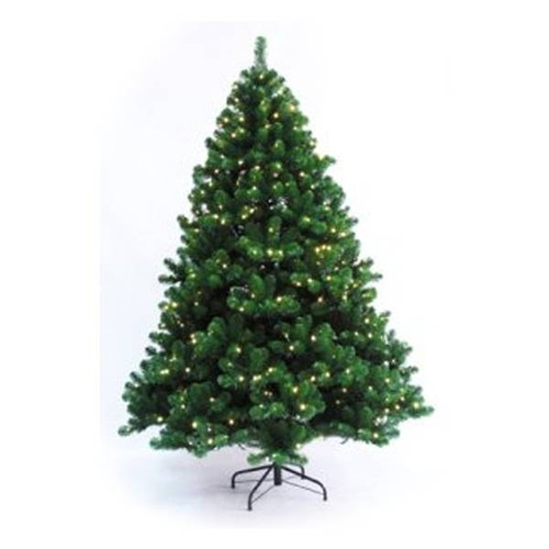 7.5' Prelit Oregon Fir LED Christmas Tree