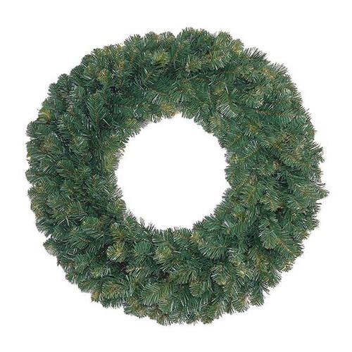 """72"""" Unlit Oregon Fir Wreath"""