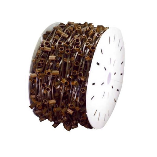 "C9 Light Spool Brown Wire 18"" Sockets"