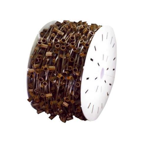 "C9 Light Spool Brown Wire 18"" Sockets"