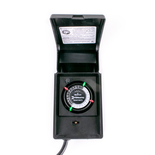 15 Amp Timer w/ 2 Grounded Outlets