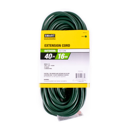 Green 40' Extension Cord
