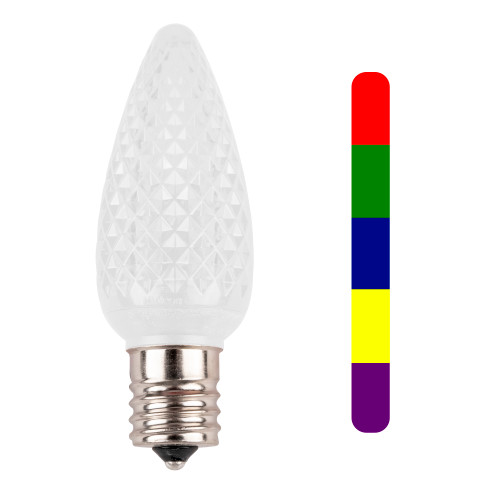 C9 SMD Multi Color Slow Change LED Replacement Bulb