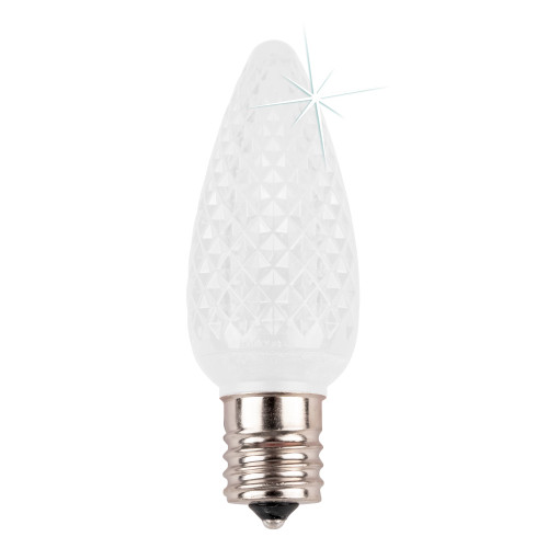 Cool White C9 SMD Twinkle LED Replacement Bulb