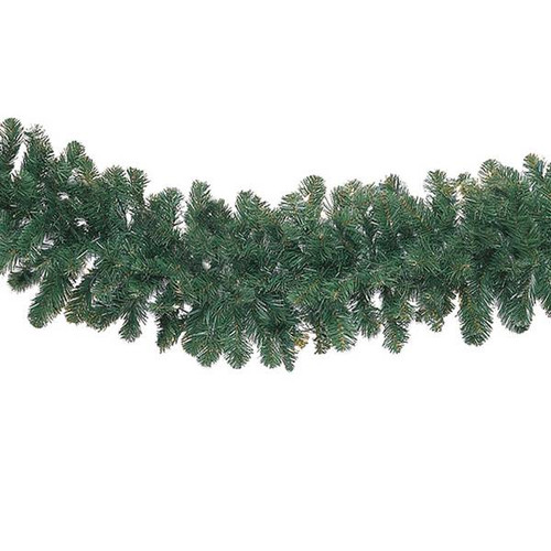 "9'x14"" Unlit Garland - 280 Tips"