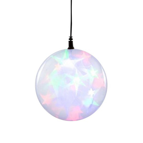 "Multi Color 6"" Holographic LED Light Sphere"