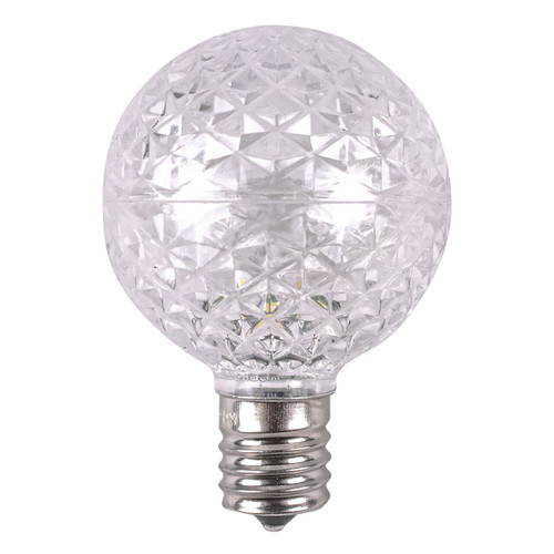 Cool White G50 Dimmable Replacement Bulb - C9 Base