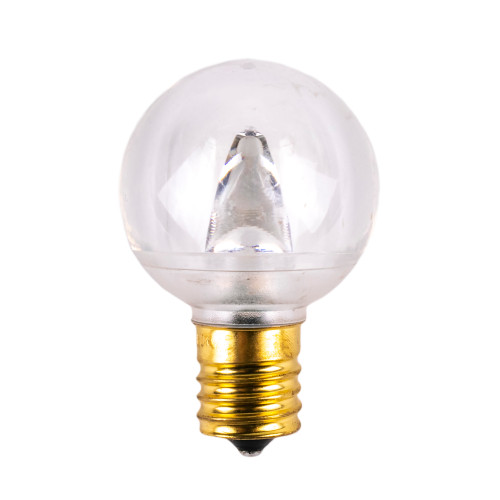 G40 SMD Smooth Dimmable Replacement Bulb - C9 Base - Warm White