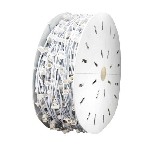 1000' C9 SPT2 Light Spool - White Wire