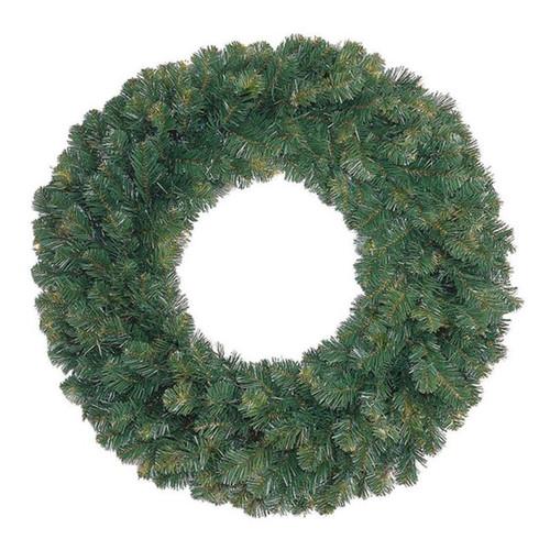 """60"""" Unlit Oregon Fir Wreath"""