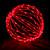 """Red 20"""" Folding LED Light Sphere"""