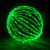 """Green 32"""" Folding LED Light Sphere"""