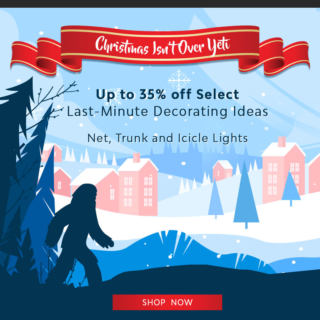 Save on Christmas LED lights