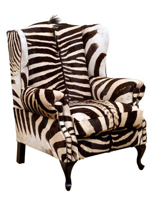 Zebra Wingback