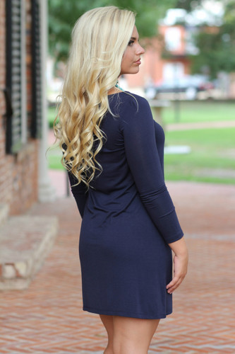 Everyday Dress: Navy